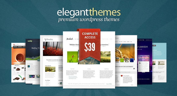 Elegant Themes Coupon Code 2017 : 70% Off